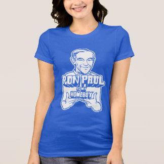 Ron Paul é minha camisa do ficar em casa Camiseta