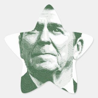 Ronald Reagan uma nação sob o deus Adesivo Estrela