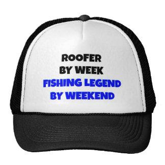 Roofer da legenda da pesca boné