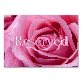 """Rosa 3,5"""" horizontal do rosa x 5"""" reservado"""