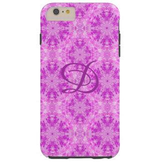 Rosa abstrato capa de telefone modelada