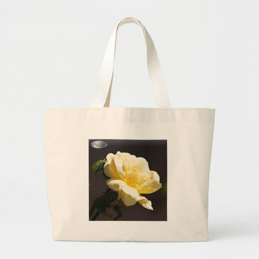 Rosa amarelo bolsas