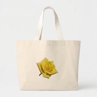 Rosa amarelo bolsas para compras