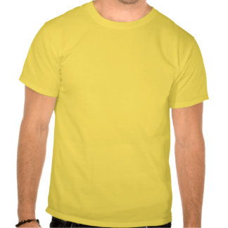 Rosa amarelo na chuva tshirt
