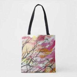 Rosa através das árvores, os bolsas do desenhista