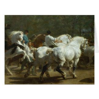 Rosa Bonheur: O cartão da feira de cavalo