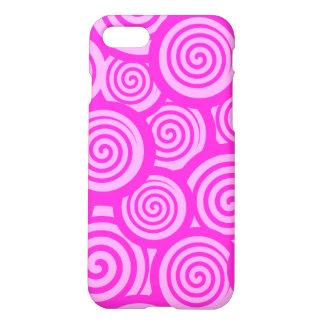 Rosa bonito capa iPhone 7