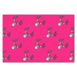 Rosa bonito do lenço de papel da casa de campo dos