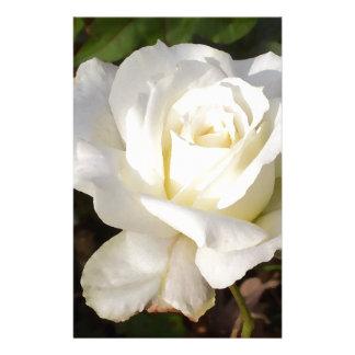 Rosa branco que Wedding presentes nupciais do part Papeis Personalizados