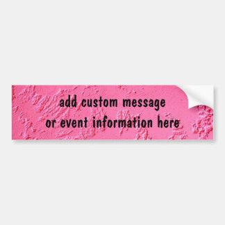 Rosa brilhante nome ou iniciais personalizadas adesivo para carro