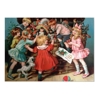 Rosa C. Petherick: A cesta do Natal Convite 12.7 X 17.78cm