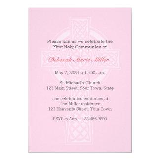 Rosa com convite religioso transversal