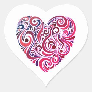 Rosa da baga e etiqueta agradáveis de Purple Heart