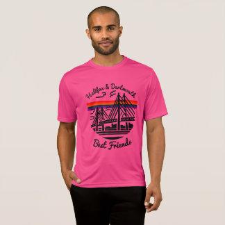 Rosa da camisa dos melhores amigos de Halifax