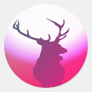 Rosa da etiqueta dos cervos