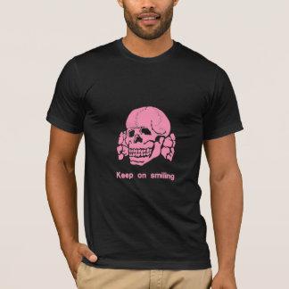 Rosa da propaganda camiseta