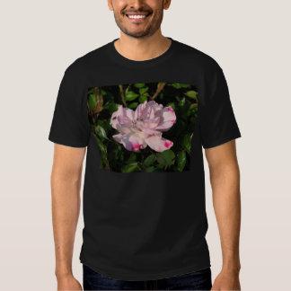 Rosa de arbusto engraçado 115 da cara camiseta