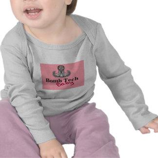 rosa de bebê da tecnologia da bomba