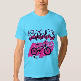 Rosa de BMX Camisetas