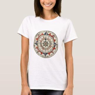 Rosa de compasso #5 camiseta