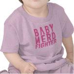 Rosa de Nerdfighter do bebê Tshirt