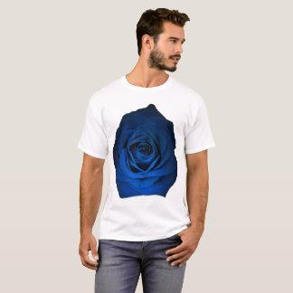 Rosa do azul no tamanho branco da camisa até 6x