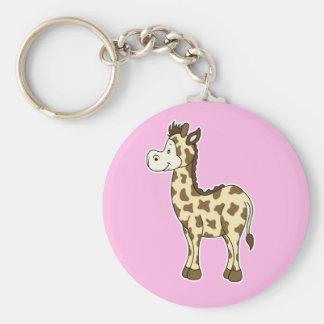 Rosa do chaveiro do girafa