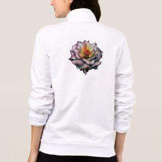 Rosa do malva jaquetas estampadas