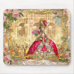 Rosa do partido de Marie Antoinette Versalhes Mouse Pads