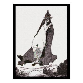 Rosa do santo de Lima que ascensão Cartão Postal