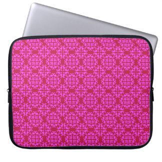 Rosa do vintage - 15' a bolsa de laptop capa para computador
