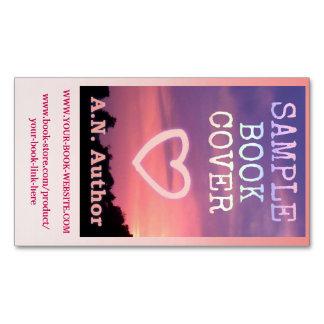 Rosa do Web site da capa do livro da promoção do