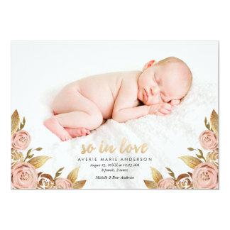 Rosa e anúncio cor-de-rosa Painterly do nascimento