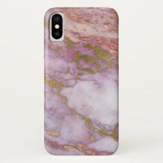 Rosa e capas de iphone do ouro