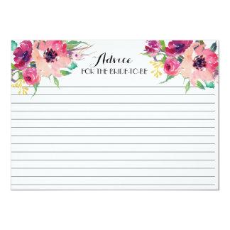 Rosa e cartões florais bonitos do conselho da