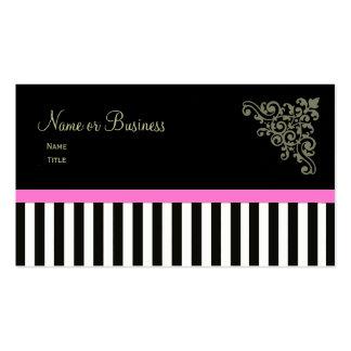Rosa francês dos cartões de visitas do ~ do boutiq
