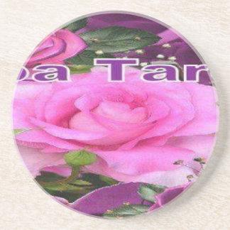 rosa linda aa porta copos de arenito