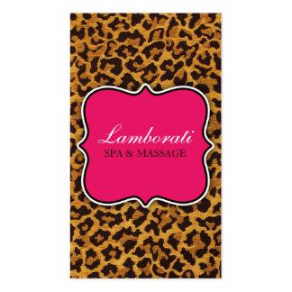 Rosa moderno elegante do desenhador de moda do cartão de visita