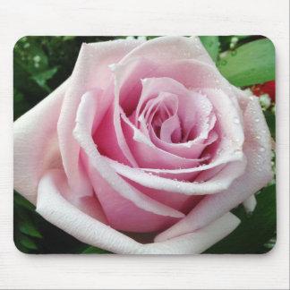 Rosa Mousepad floral do rosa