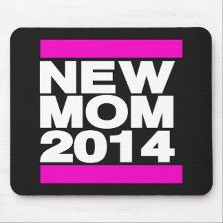 Rosa novo da mamã 2014 mouse pad