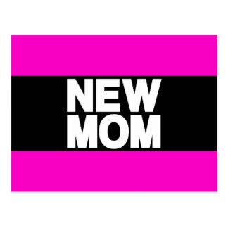 Rosa novo do Lg da mamã Cartão Postal