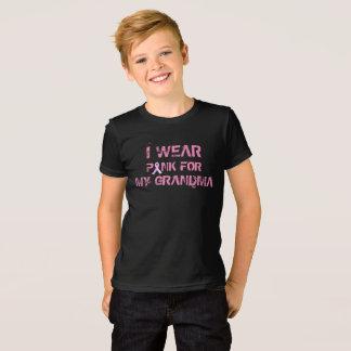 Rosa para minha camisa da consciência do cancro da