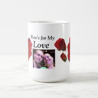 Rosa para minha caneca do amor