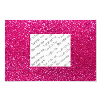 rosa quente de néon glitter27.png impressão de foto