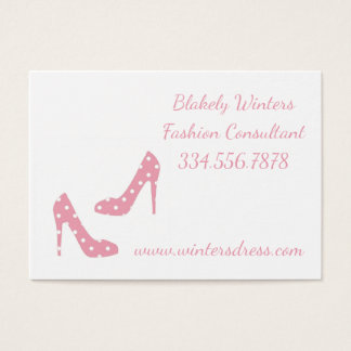 Rosa se a forma dos ajustados dos calçados compo o cartão de visitas