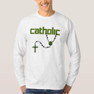 Rosário católico tshirts