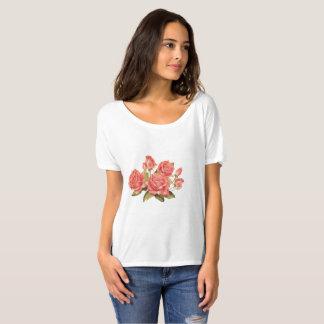 Rosas Camiseta