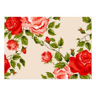 rosas de COM do imagem Modelos Cartoes De Visitas
