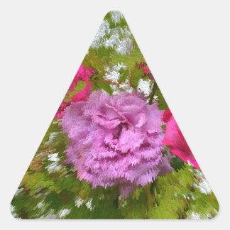 rosas diferentes na árvore de bordo close-up