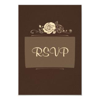 Rosas do café e do creme convites